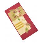 Открытка ручной работы с конвертом, 10 х 20 см