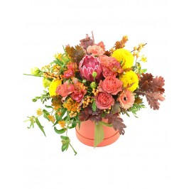 Цветы в коробке Гранита