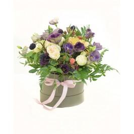 Цветы в коробке Пастьера