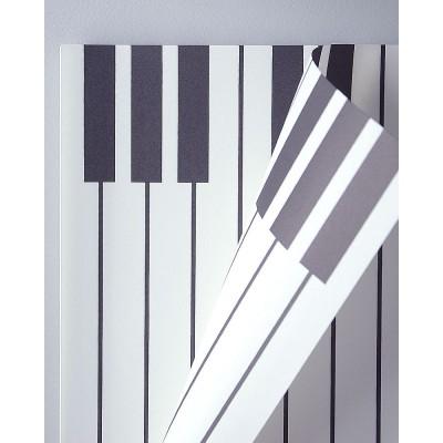 Бумага влагостойкая Пианино, 60*60см, 20 листов, белый