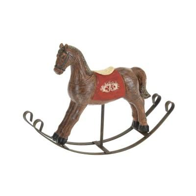 Фигурка Детский лошадка 193X45X140MM, коричневый, полистоун