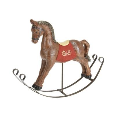 Фигурка Детский лошадка 267X55X225MM, коричневый, полистоун