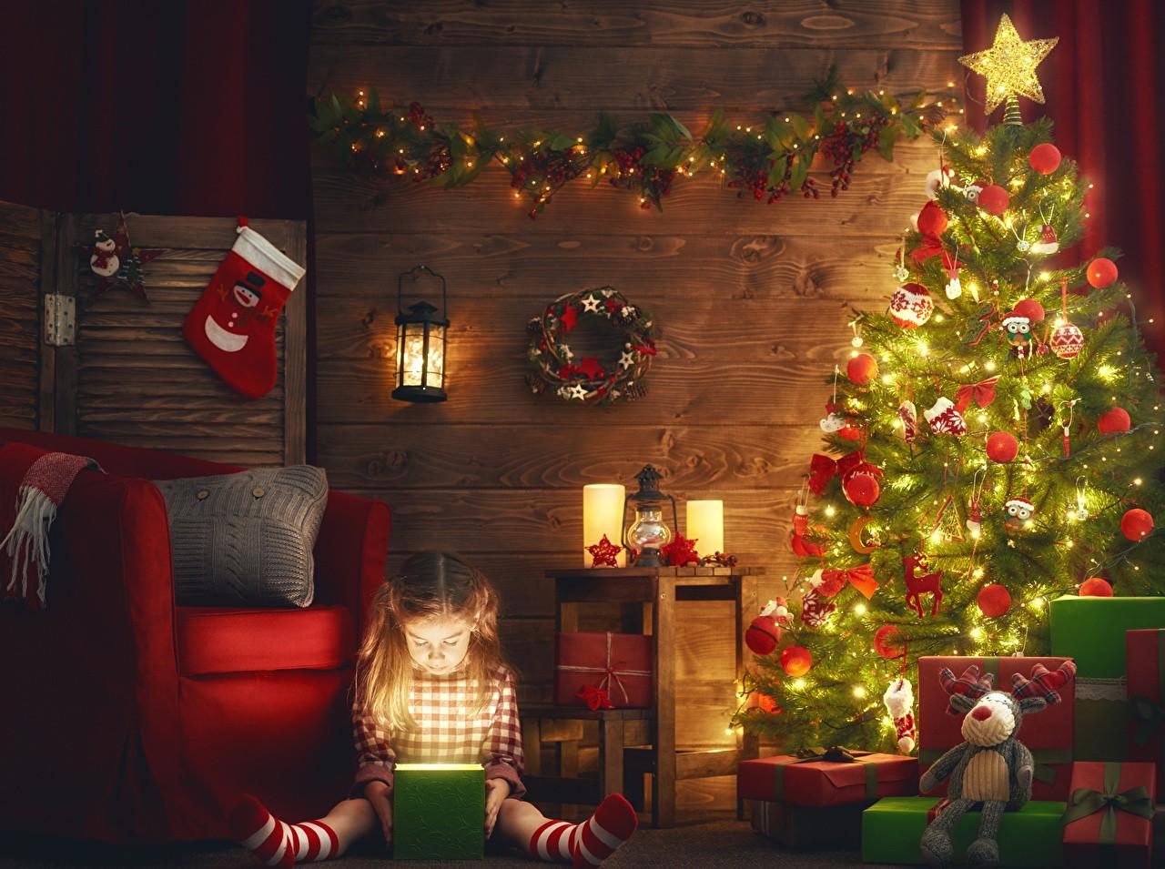 Магия света - красивые гирлянды на елку