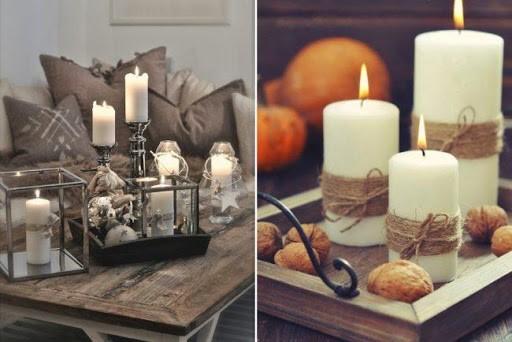 Свечи, как неотьемлемый атрибут праздника