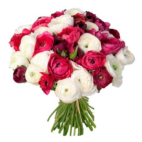 Букет з квітів Ранункулуса