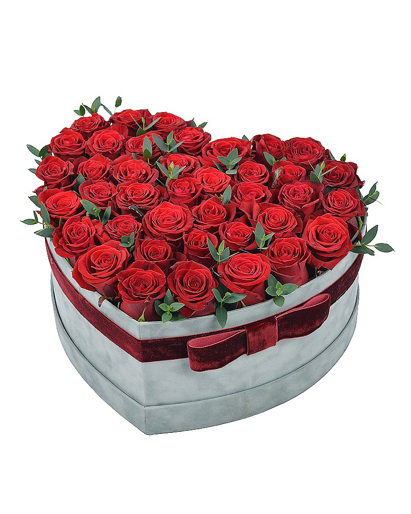 букет ко Дню Валентина