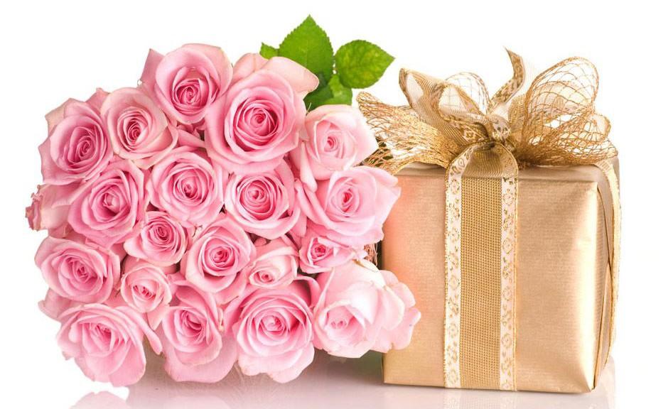 Нежный букет роз на день рождения